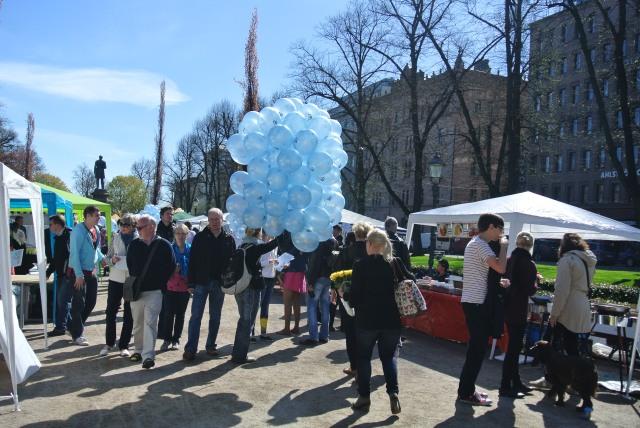 Finns love their balloons.