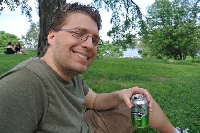 Matt's long drink tasted like adult Sprite.