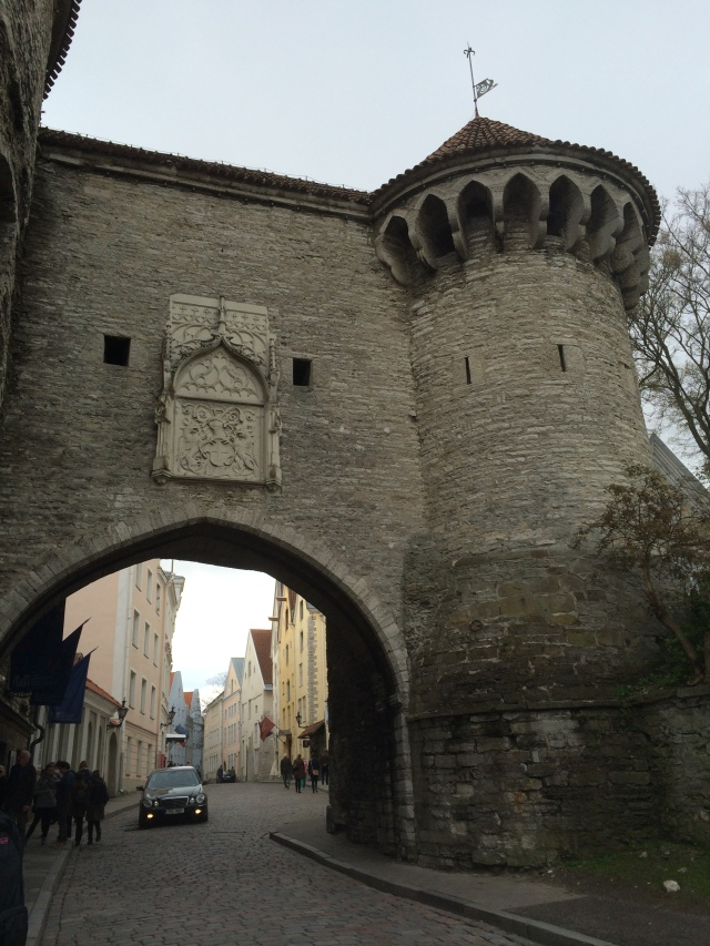 We took this entrance into the old city.