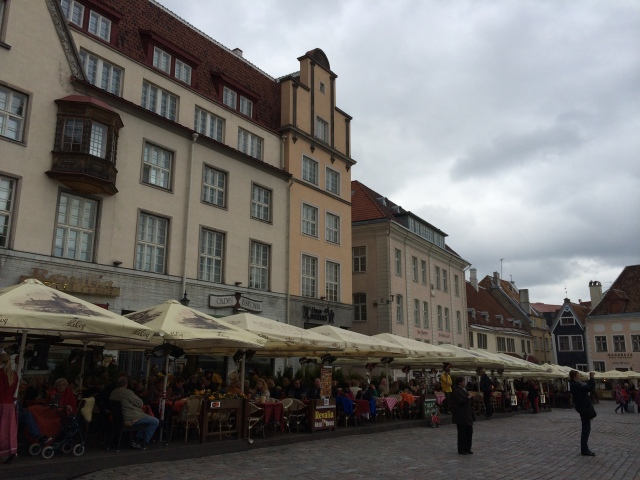 Old Town's city square where you can eat, drink, and shop to your heart's content.
