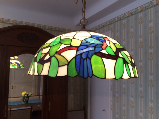 Care for a parrot lamp?