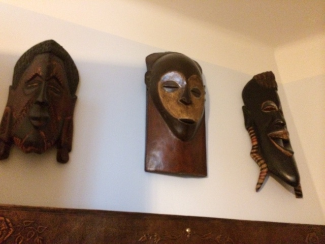 ...and a bit of Africa on the walls.